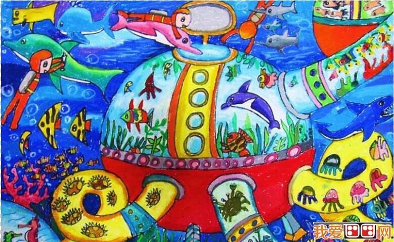 神秘的海洋世界科幻画作品欣赏(2)