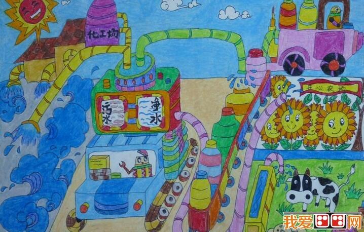 学画画 儿童画教程 科幻画图片