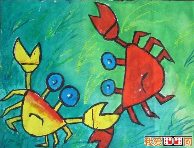 超萌的个性小动物水彩画作品欣赏(2)