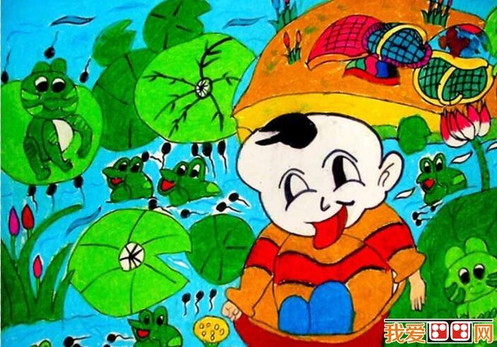 超萌的个性小动物水彩画 动物世界里有大象、奶牛、猴子等~~它们正玩得不亦乐乎,看起来好高兴呢!  超萌的个性小动物水彩画 画中有两只大螃蟹在草地上打架,一只穿着红色衣裳,一只穿着黄色衣裳~~究竟谁会赢呢?  超萌的个性小动物水彩画 可爱的宝宝被放到了盆里,放到了河里,在河里有很多青蛙和蝌蚪,还有很多荷叶和荷花,青蛙都向宝宝围了过来,宝宝哈哈大笑。 看完这么多可爱有趣的动物,大家也快来画一幅吧!以上就是关于有趣的动物世界儿童
