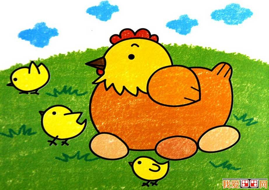 幼儿简笔画教学中要注意的问题(2)