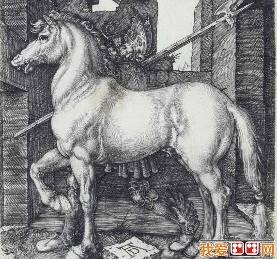 德国著名画家丢勒素描动物作品欣赏(6)