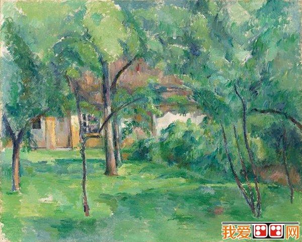 世界名画 风景油画