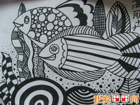 美术教育:幼儿线描画教学初探与实践