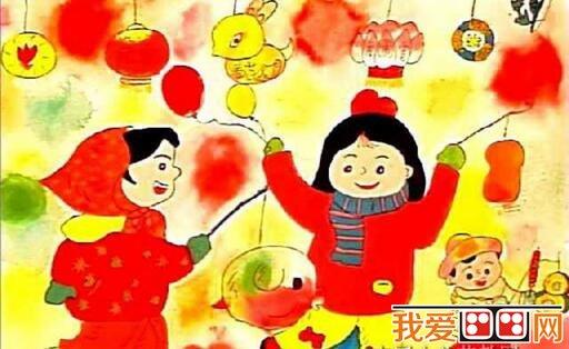 """之后的第一个重要节日,是中国亦是汉字文化圈的地区和海外华人的传统节日之一。正月是农历的元月,古人称夜为""""宵"""",所以把一年中第一个月圆之夜正月十五称为元宵节。  元宵节儿童水彩画作品欣赏 元宵节是中国的传统节日,早在2000多年前的秦朝就有了。据资料与民俗传说,正月十五在西汉已经受到重视,汉武帝正月上辛夜在甘泉宫祭祀""""太一""""的活动,被后人视作正月十五祭祀天神的先声。  元宵节儿童水彩画作品欣赏 元宵,原意为""""上元节的晚上"""",因正月十五&"""