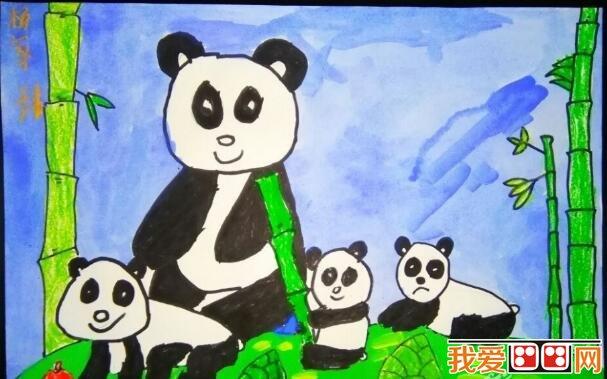"""欣赏。  熊猫儿童水粉画作品欣赏 大熊猫属于食肉目、大熊猫科的一种哺乳动物,体色为黑白两色,它有着圆圆的脸颊,大大的黑眼圈,胖嘟嘟的身体,标志性的内八字的行走方式,也有解剖刀般锋利的爪子。是世界上最可爱的动物之一。  熊猫儿童水粉画作品欣赏 大熊猫已在地球上生存了至少800万年,被誉为""""活化石""""和""""中国国宝"""",世界自然基金会的形象大使,是世界生物多样性保护的旗舰物种。  熊猫儿童水粉画作品欣赏 据第三次全国大熊猫野外种群调查,全世界野生大熊猫不足1600只,"""