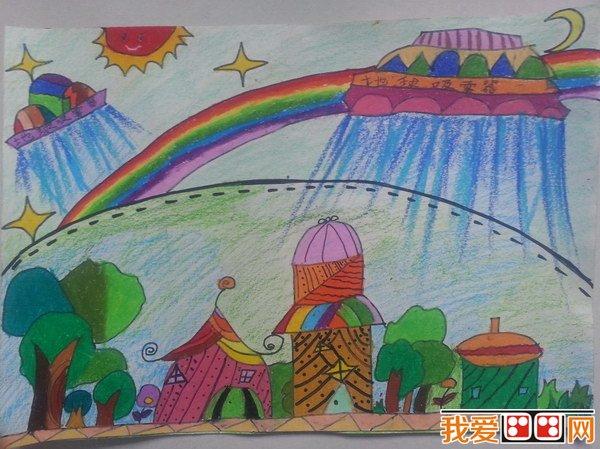 """""""地球一小时""""儿童绘画比赛开始啦!图片"""