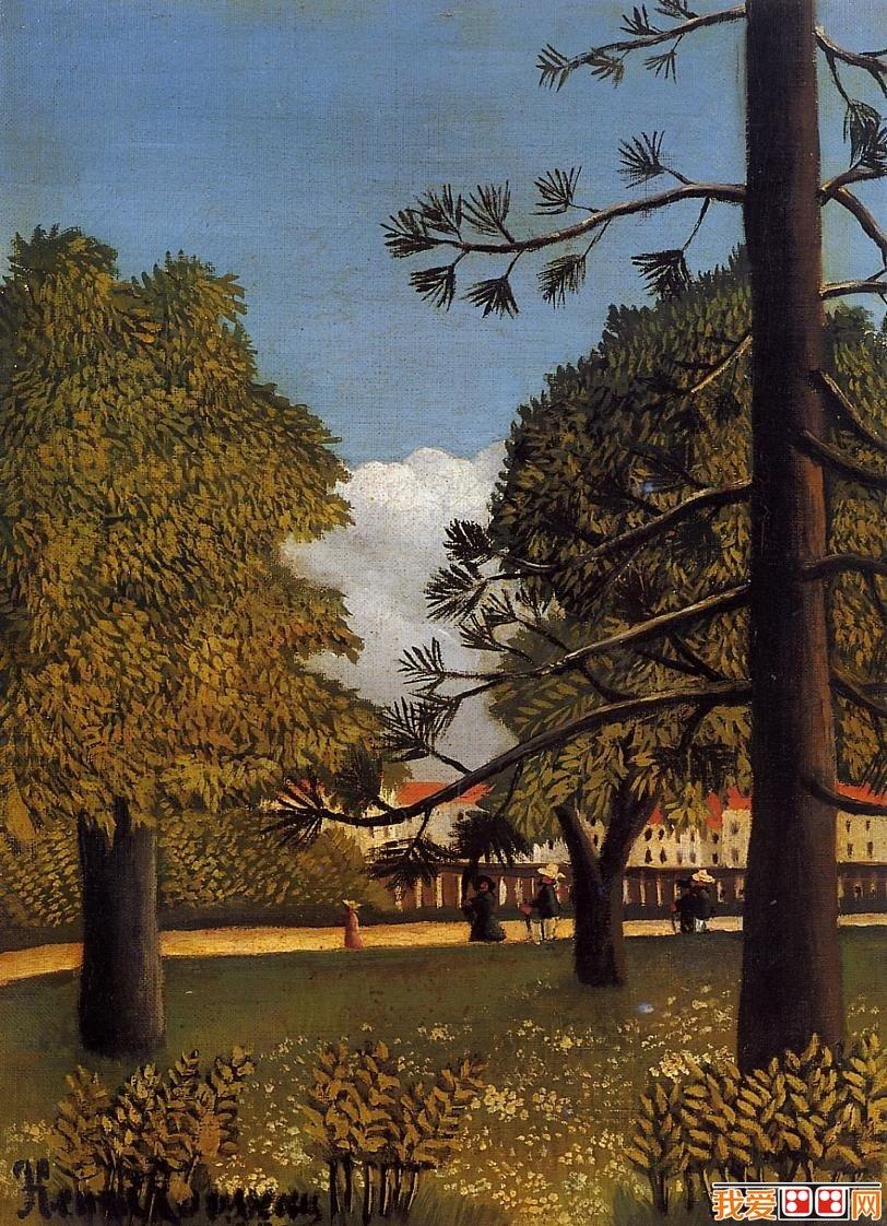 法国画家卢梭乡村风景油画作品欣赏(6)