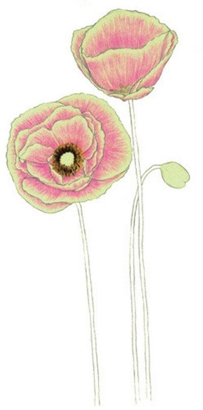 花朵椅子简笔画