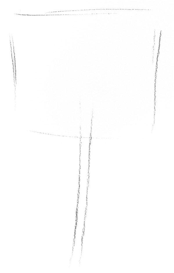 素描蒲公英的绘画步骤(2)