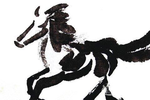 国画马的绘画步骤