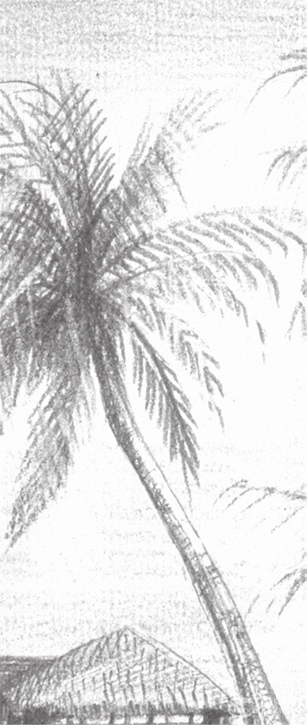 素描海边风景的绘画技法(7)