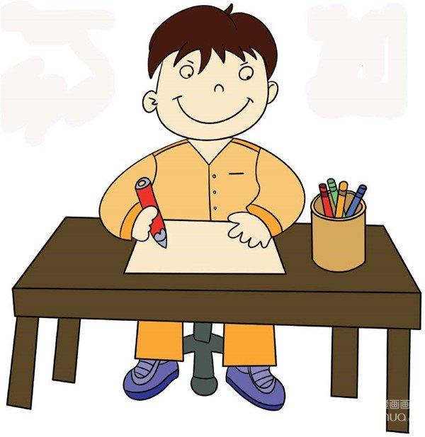 学画画 儿童画教程 简笔画
