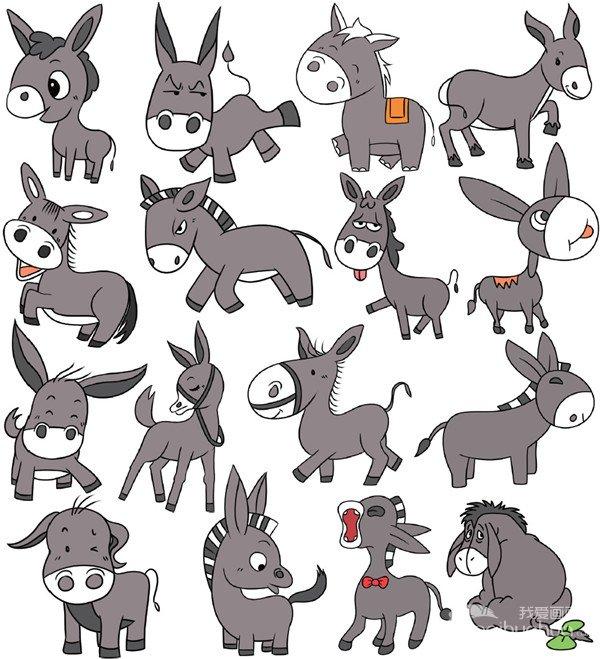 动物类简笔画(2)图片