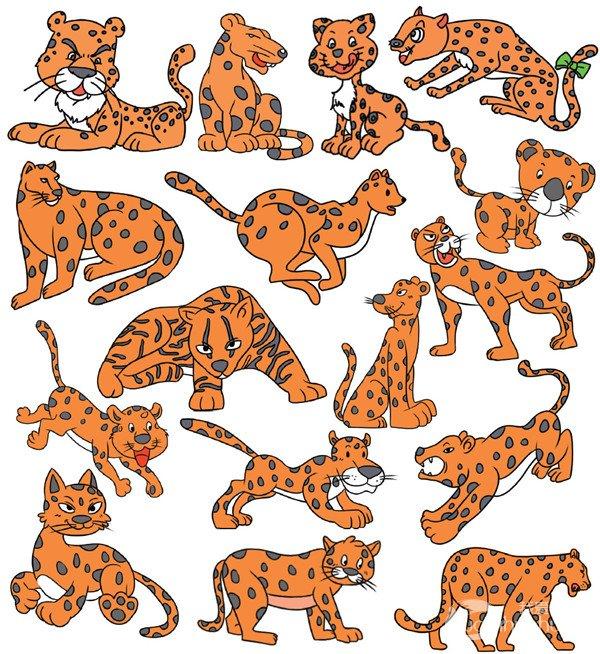学画画 儿童画教程 简笔画     豹子   第3页(共7页) 相关文章
