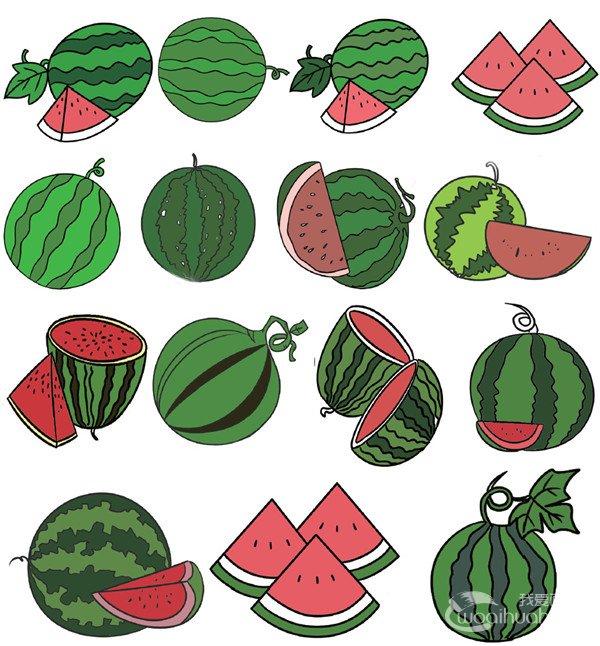 水果类简笔画(4)