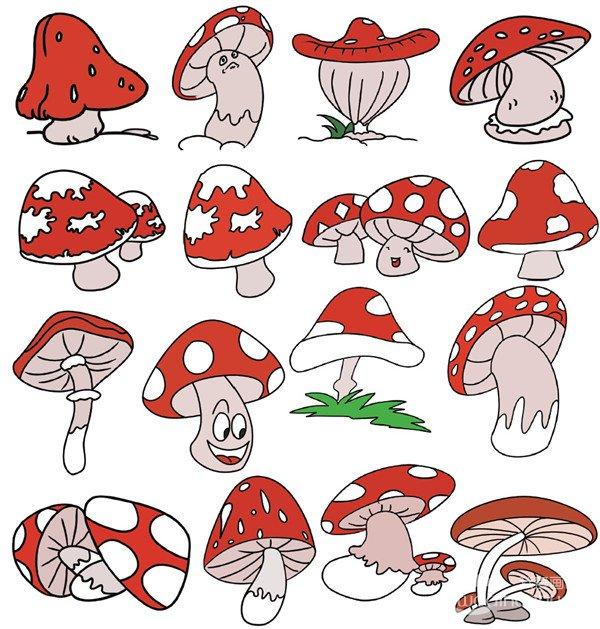 蔬菜类简笔画(2)_儿童画教程_学画画_我爱画画网_一个