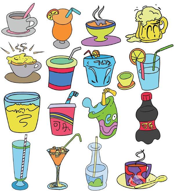 学画画 儿童画教程 简笔画     饮料简笔画二    上面为大家分享了