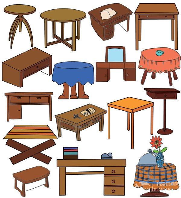 家具简笔画简单