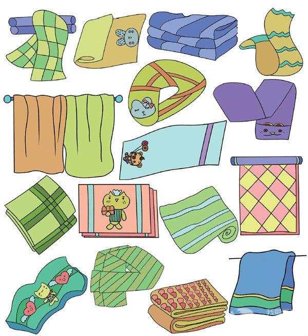 生活用品类简笔画(5)_儿童画教程_学画画_我爱画画网_