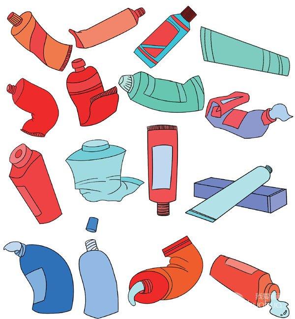 生活用品类简笔画(6)
