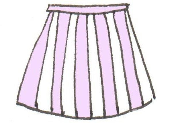 卡通裙子图片